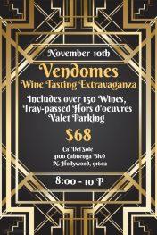 Vendome Wine Tasting Event