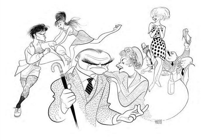 Al Hirschfeld Art Exhibition