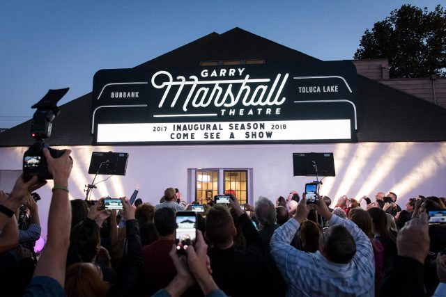 Raising the Curtain on the Garry Marshall Theatre