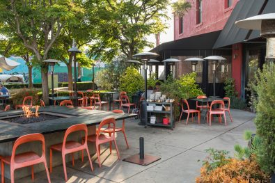 Dining al Fresco: Pitfire