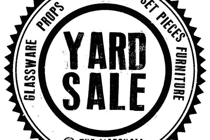 Garry Marshall Theatre Yard Sale