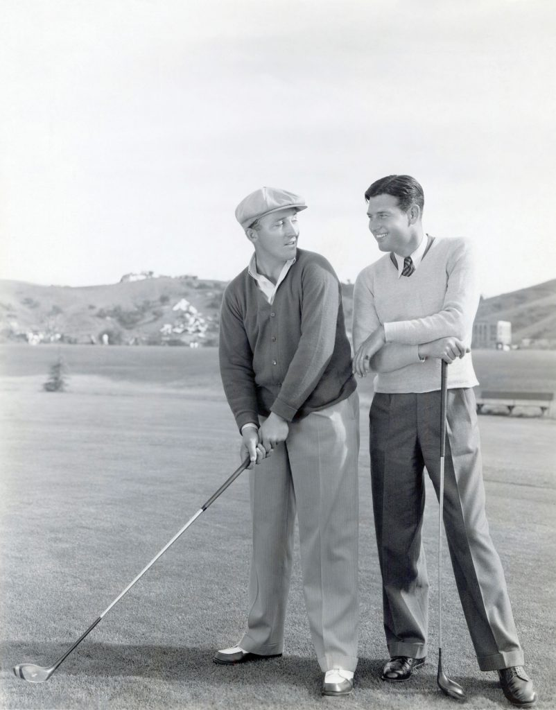 Bing Crosby & Richard Arlen
