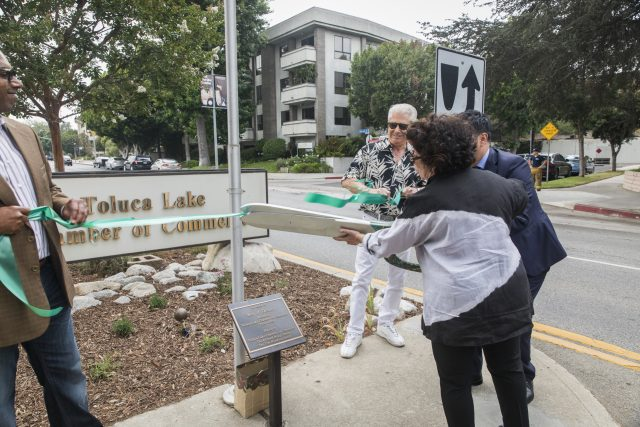 Toluca Lake Gateway Rededication