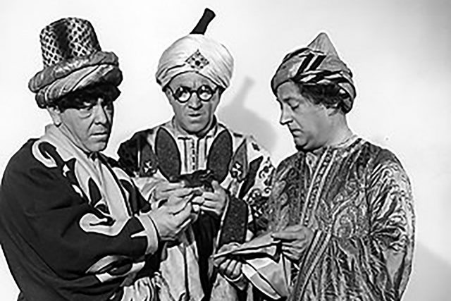 More About the Three Stooges and Me