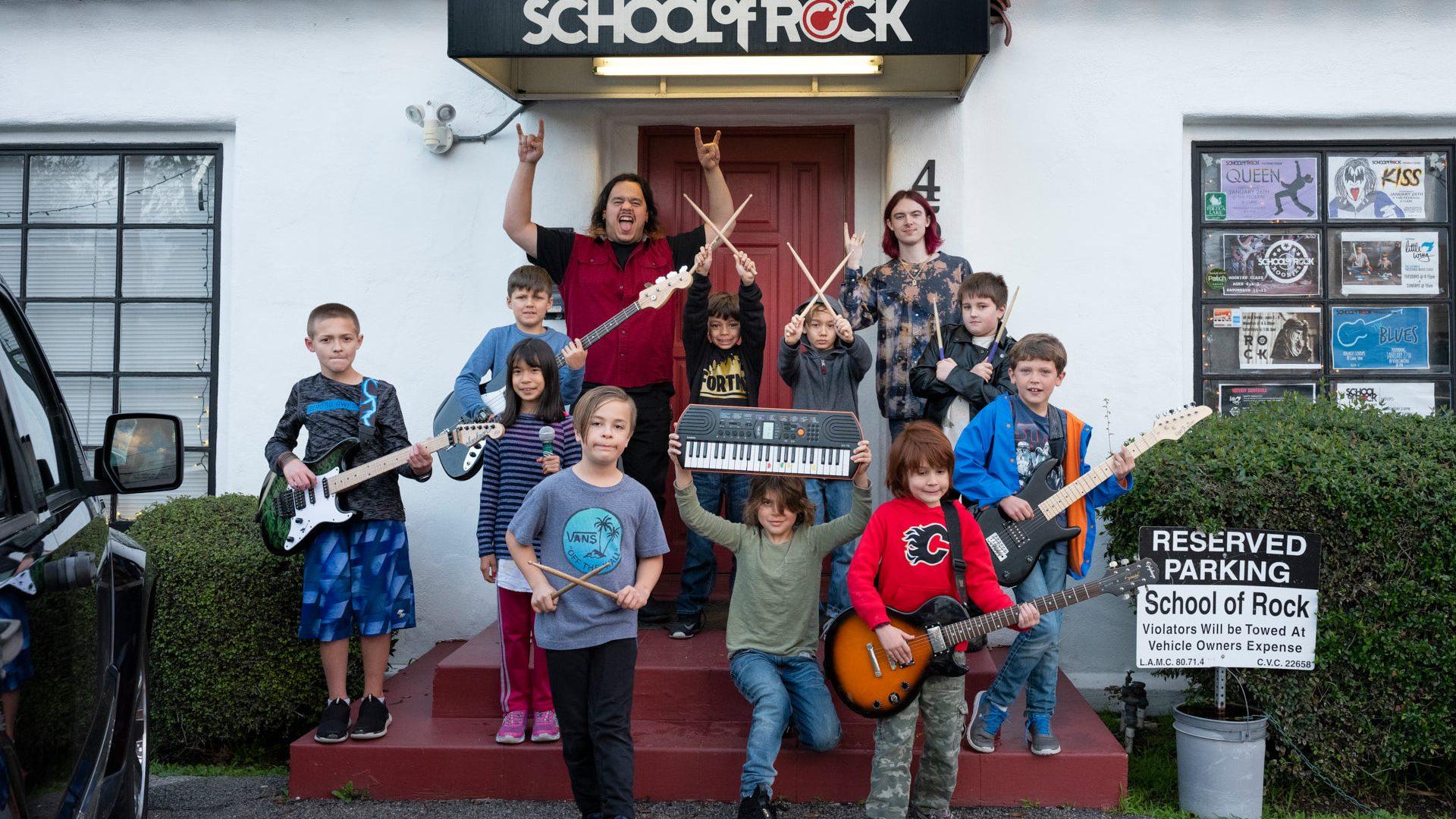 School of Rock Teaches the Universal Language of Music