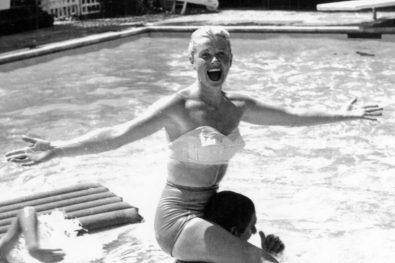 Doris Day at Home in Toluca Lake