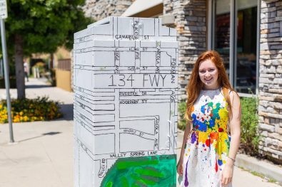 New Art Gives Streets a Splash of Local Color