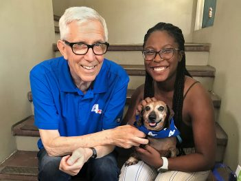 Local Anchors Help Clear the Shelters