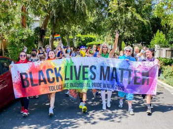 Inaugural LGBTQ+ Walk Shows Pride in Every Step