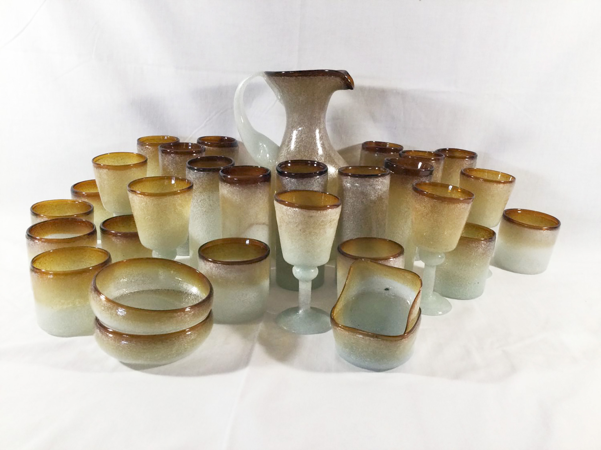 the-history-heritage-and-timeless-heirlooms-of-harry-p-archinal-11-hand-blown-glass-bar-set